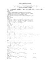 440 câu trắc nghiệm hóa 9