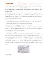 Giải bài tập trang 20, 21 SGK Vật lý lớp 11: Điện trường và cường độ điện trường, đường sức điện