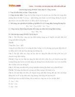 Giải bài tập trang 25 SGK Vật lý lớp 11: Công của lực