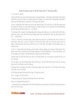 Giải bài tập trang 73 SGK Sinh lớp 9: Thường biến