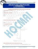 Học toán từ con số 0   đại số giải tích phần  (4)