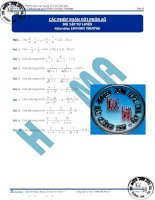 Học toán từ con số 0   đại số giải tích phần  (1)