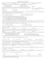 đề kiểm tra chương I vật lí 12