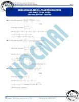 Học toán từ con số 0   đại số giải tích phần  (3)