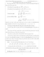 Rút gọn biểu thức chứa căn thức bậc hai ôn thi vào 10 có đáp án