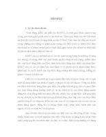LUẬN văn THẠC sĩ   NÂNG CAO CHẤT LƯỢNG áp DỤNG PHÁP LUẬT TRONG KIỂM sát điều TRA các vụ án HÌNH sự của VIỆN KIỂM sát NHÂN dân TỈNH bắc NINH