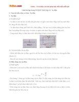 Giải bài tập trang 33 SGK Vật lý lớp 11: Tụ điện