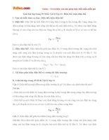 Giải bài tập trang 29 SGK Vật lý lớp 11: Điện thế, hiệu điện thế