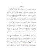 LUẬN văn THẠC sĩ   PHÁT HUY VAI TRÒ của tổ CHỨC CÔNG đoàn TRONG các DOANH NGHIỆP có vốn đầu tư nước NGOÀI TRÊN địa bàn THÀNH PHỐ hà nội góp PHẦN GIỮ VỮNG ổn ĐỊNH CHÍNH TRỊ xã hội