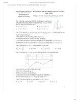 BỘ Đề thi môn toán minh họa THPT quốc gia 2017_ CÓ ĐÁP ÁN CHI TIẾT