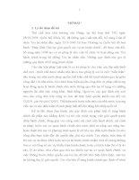 LUẬN văn THẠC sĩ   VAI TRÒ của PHÁP LUẬT tố TỤNG HÀNH CHÍNH ở VIỆT NAM HIỆN NAY