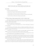 Chương 2. Giáo trình Phân tích hoạt động kinh doanh - Gs. Bùi Xuân Phong