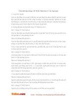 Giải bài tập trang 107 SGK Sinh lớp 6: Các loại quả