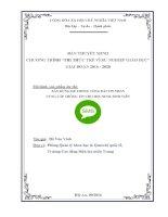 Xây dựng hệ thống tổng đài tin nhắn cung cấp thông tin cho học sinh, sinh viên