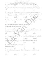 250 câu trắc nghiệm định lượng phần 1   thi THPT QG 2017   lê văn đức