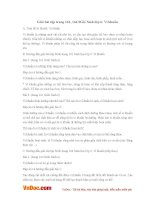 Giải bài tập trang 161, 164 SGK Sinh lớp 6: Vi khuẩn