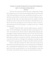 TIỂU LUẬN CHUYÊN NGÀNH   tư TƯỞNG về CON ĐƯỜNG CÁCH MẠNG VIỆT NAM QUA tác PHẨM ĐƯỜNG CÁCH MẠNG và sự vận DỤNG của ĐẢNG TA HIỆN NAY