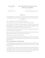 Thông tư số 66/2014/TT-BTC về lệ phí cấp Giấy phép thành lập Vp đại diện của doanh nghiệp quảng cáo nước ngoài