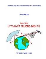ĐHCN giáo trình lý thuyết trường điện từ   võ xuân ân, 108 trang