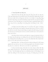 LUẬN văn THẠC sĩ văn hóa   NHÂN vật CHÈO TRUYỀN THỐNG dưới góc NHÌN văn hóa