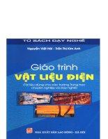 THCN giáo trình vật liệu điện    nguyễn viết hải, 109 trang