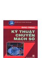 THCN giáo trình kỹ thuật chuyển mạch số   ks nguyễn văn điềm, 225 trang