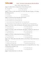 Câu hỏi trắc nghiệm môn Giáo dục công dân lớp 12 bài 2: Thực hiện pháp luật (Có đáp án)