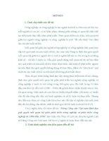 LUẬN văn THẠC sĩ   ĐẢNG CỘNG sản VIỆT NAM LÃNH đạo GIẢI QUYẾT mối QUAN hệ GIỮA PHÁT TRIỂN NÔNG NGHIỆP VÀ PHÁT TRIỂN CÔNG NGHIỆP GIAI đoạn 1986 1996