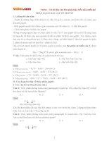 Phân dạng bài tập về Peptit