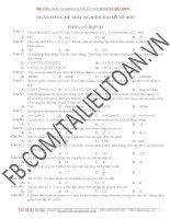 500 câu trắc nghiệm Tổ hợp (file word có đáp án)