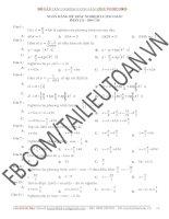500 câu trắc nghiệm lượng giác 11  (file word 2003 có đáp án).