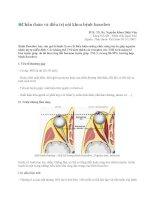 Chẩn đoán và điều trị nội khoa bệnh basedow