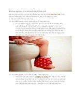 Rối loạn tiêu hóa ở trẻ và cách điều trị hiệu quả