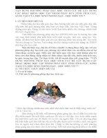 VẬN DỤNG PHƯƠNG PHÁP DẠY HỌC TÍCH CỰC ĐỂ XÂY DỰNG CÁC HOẠT ĐỘNG HỌC TẬP NHẰM PHÁT HUY TÍNH TÍCH CỰC, SÁNG TẠO CỦA HỌC SINH TRONG DẠY  HỌC MÔN TIN 7