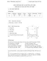 Tiểu luận thiết kế cầu máng bê tông cốt thép