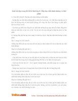 Giải bài tập trang 96 SGK Sinh lớp 8: Hấp thụ chất dinh dưỡng và thải phân