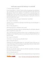 Giải bài tập trang 101 SGK Sinh lớp 8: Trao đổi chất