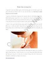 Thuốc đặc trị lang ben
