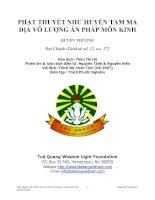 Phật Thuyết Như Huyeexntam Ma Địa Vô Lượng Ấn Pháp Môn Kinh