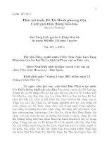 Phật Nói Kinh Bồ Tát Hành Phương Tiện Cảnh Giới Thần Thông Biến Hóa