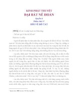 Kinh Phật Thuyết  Đại Bát Nê Hoàn Quyển 6 Phẩm Thứ 17 Hỏi Về Bồ Tát