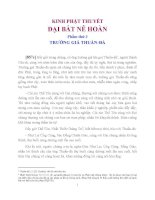 Kinh Phật Thuyết Đại Bát Nê Hoàn Phẩm Phẩm Thứ 3 Trưởng Giả Thuần-Đà