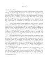 Sự thể hiện số phận con người trong tiểu thuyết việt nam sau 1975 (TT)