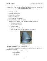 Ứng dụng PRO e để thiết kế và chế tạo khuôn ép ứng dụng hệ thống phun keo nóng