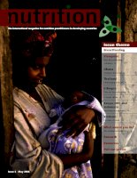 Nutrition magazine issue 2 may 2006