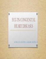 Điện tâm đồ trong các bệnh lý tim bẩm sinh về cấu trúc