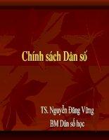 Bai 11  chinh sach DSo