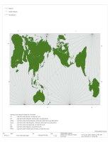 Bản đồ thế giới theo kích thước chuẩn mới