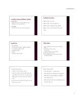 Các đường dùng thuốc( bài in)