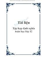 bait ap hinhhoc 12 onthi tn thpt dh